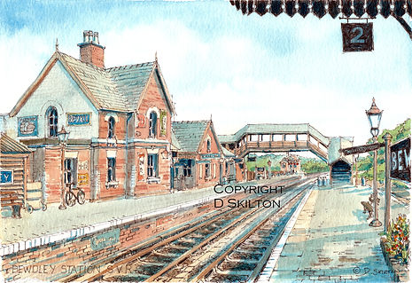 bewdley station SVR scaled down copyrigh