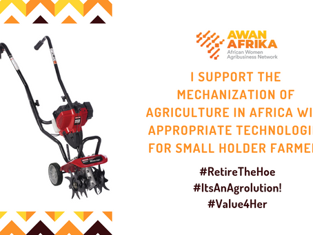Victory for African women smallholder farmers as AU prepares to retire the hand-hoe to the museum.