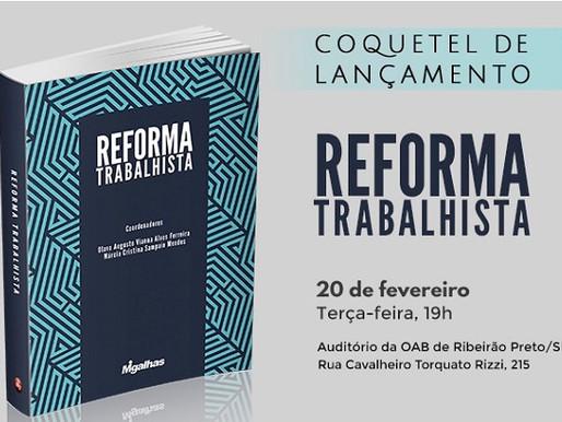 Lançamento Reforma trabalhista