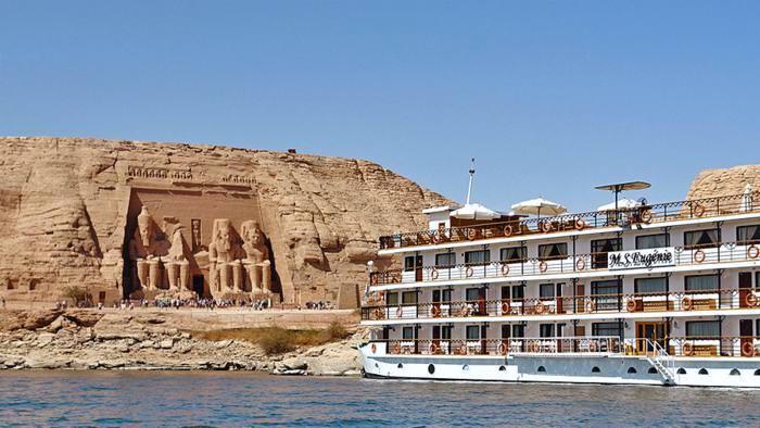 Lake Nasser cruise  |  Cruise op het Nassermeer