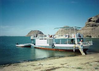 Safari boat on Lake Nasser |  Safari boot op het Nassermeer