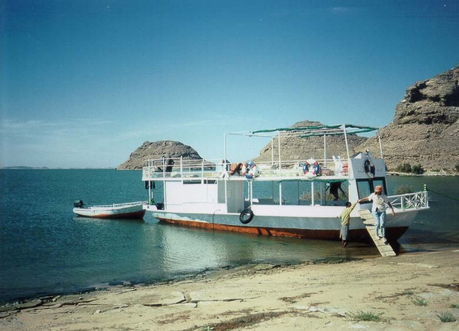 Safari boat on Lake Nasser |  Safari boot op het Nassermeer