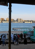 Ferry landing Aswan West bank