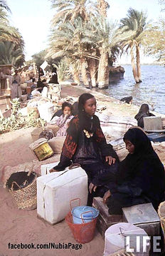 Nubian evacuation from Lake Nasser