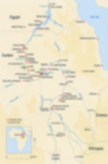 Archeologische sites van Sudan MAP.jpg