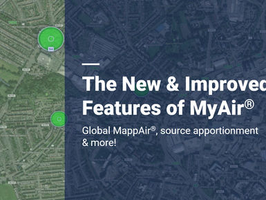 The New Features of MyAir®: Source Apportionment, Global MappAir® & more!