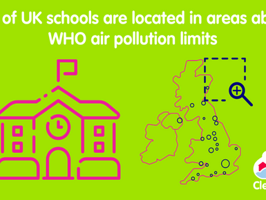 How Air Quality Modelling Highlighted Pollution at Schools for Clean Air Day