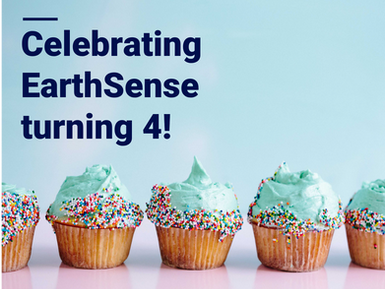 EarthSense Celebrates 4th Birthday!