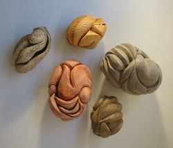 Story Pods, hand-carved