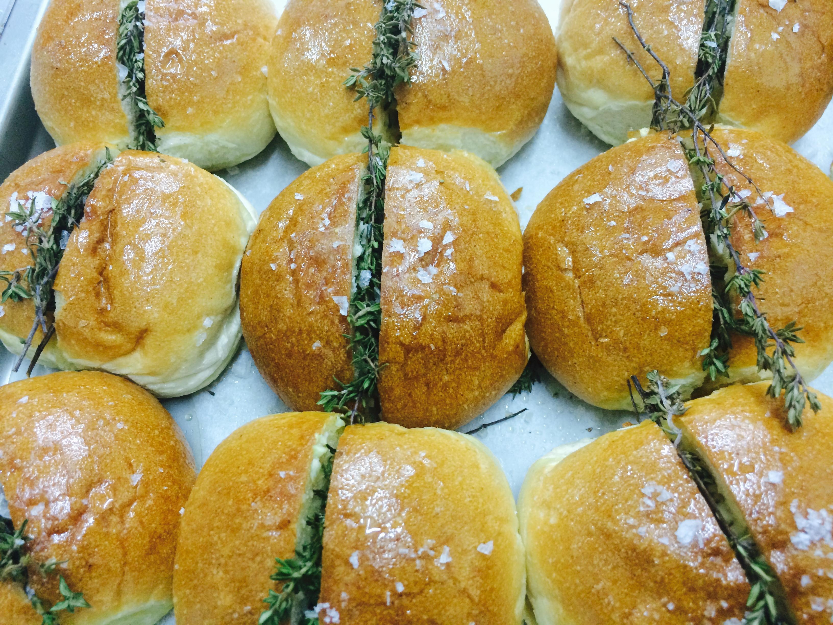 Garlic & Thyme Buns