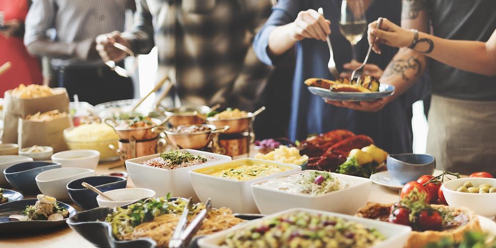 Syyskokouksen ruokailu Rauhalassa