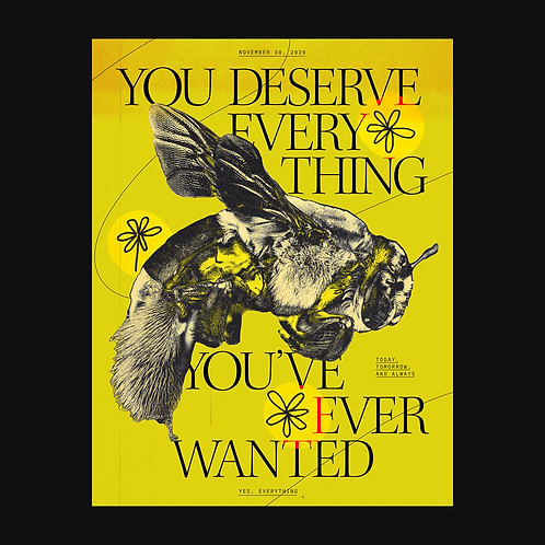 What You Deserve Print