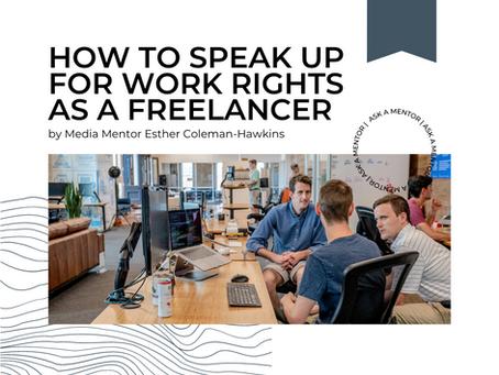 Bystander Intervention for Freelancers