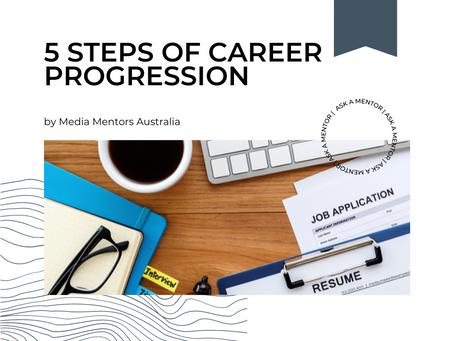 5 Steps of Career Progression