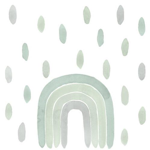 Vinilo adhesivo acuarela arcoiris de TRESXICS