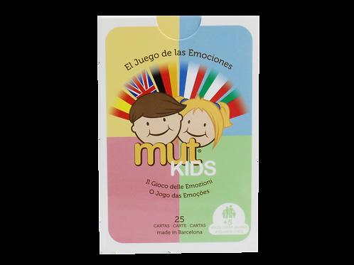 Baraja De Cartas de Mut Kids IDIOMAS