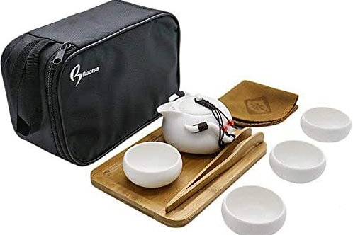 Travel Tea Set (White)