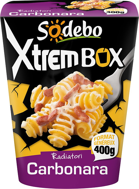 XTREM PASTABOX SODEBO CARBONARA