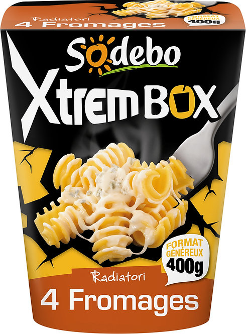 XTREM PASTABOX SODEBO 4 FROMAGES