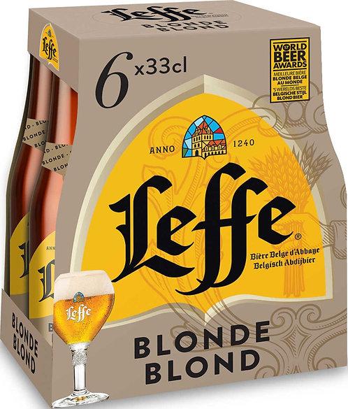 LEFFE 6 x 33cl