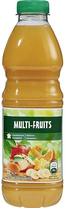 JUS MULTI-FRUITS 1l