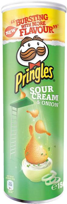 PRINGLES SOUR CREAM & ONION 150g