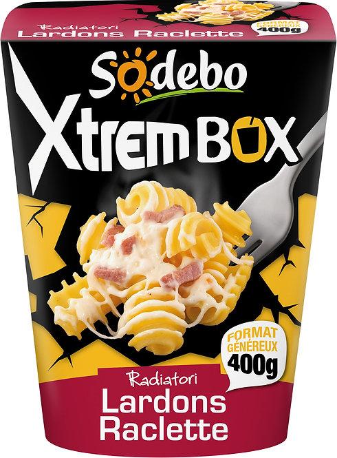 XTREM PASTABOX SODEBO LARDON RACLETTE