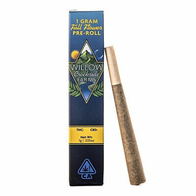 Willow Creekside Farms PreRoll Sour Apple 1g (11.31% THC)