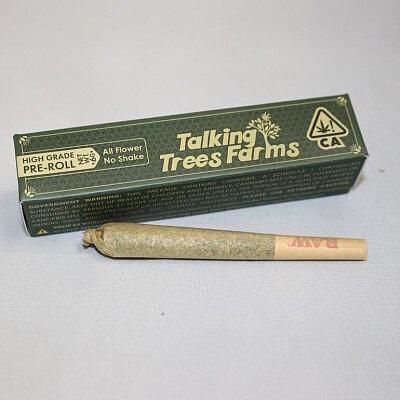Talking Trees PreRoll GG4 1g (24.15% THC)