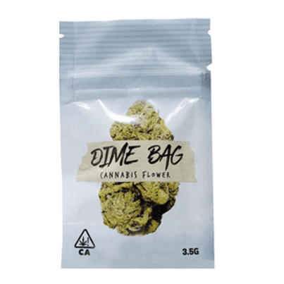 Dime Bag Flower Cookies N Cream 3.5g (22.56% THC)