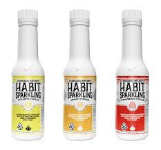Habit Sparking Cooler Green Apple 100mg THC