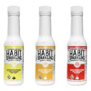 Habit Sparking Cooler Raspberry 100mg THC