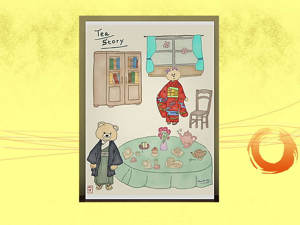 Tea story (final paint)