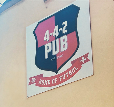 442 Soccer Bar Logo