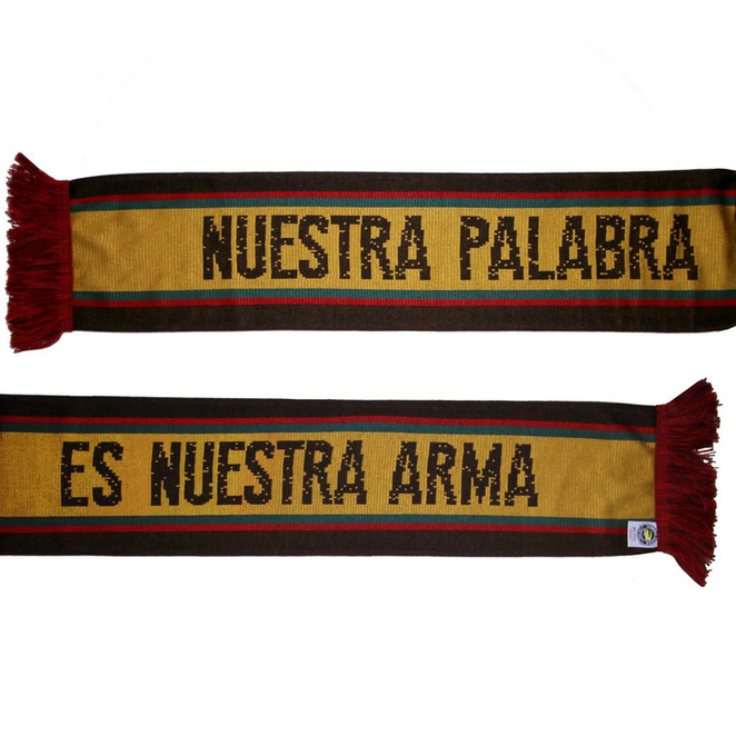 NO Pasaran scarf design for Timbers Army