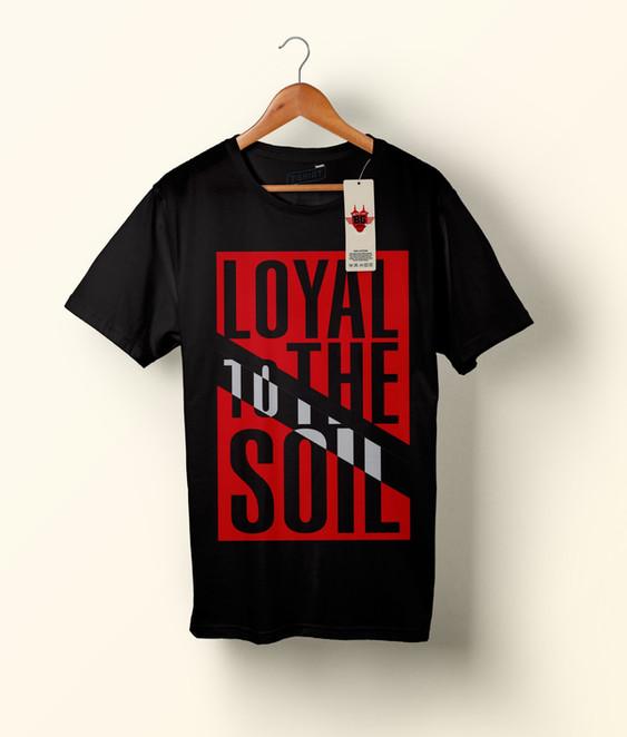 """Loyal to the Soil"" logo and hoody design for Blazer Gang."