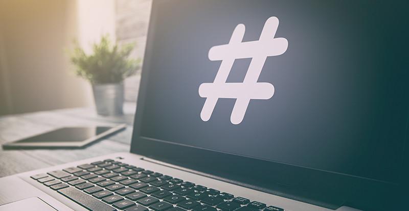 hashtag dans les publications