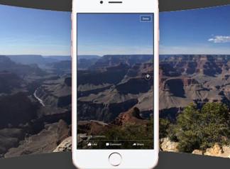 Les photos à 360°