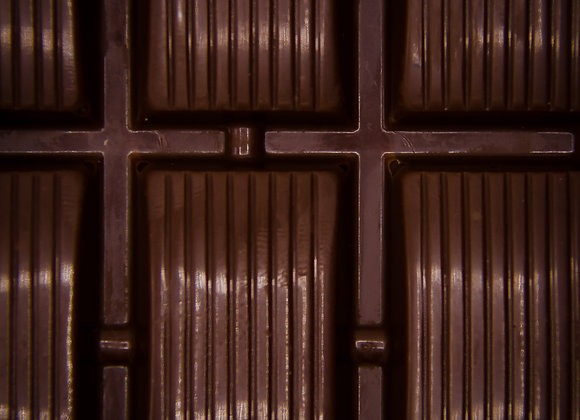Tablette chocolat noir 72% de cacao Origine République Dominicaine