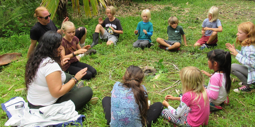 Tuesday~ Na'au Nature Experience (Ages 6 to 12)~Try out our Nature Camp for a day!