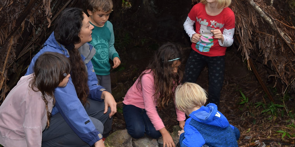 Wednesday~ Na'au Nature Experience (Ages 6 to 12)~Try out our Nature Camp for a day!