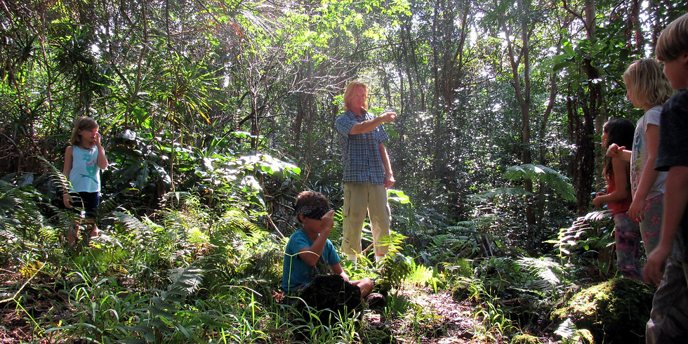 Thursday~ Na'au Nature Experience (Ages 6 to 12)~Try out our Nature Camp for a day!