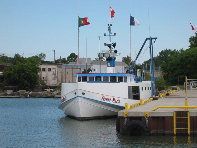 Fishing boat Teresa Maria.