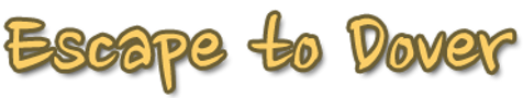 Font style logo for Escape to Dover website.