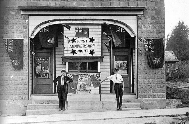 GEM theatre Port Dover 1914