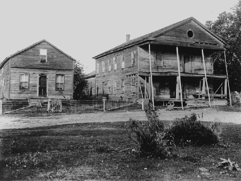 Union-Hotel-Normandale-before-restoration-circa-1930