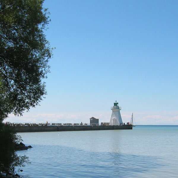 Port Dover Lighthouse.