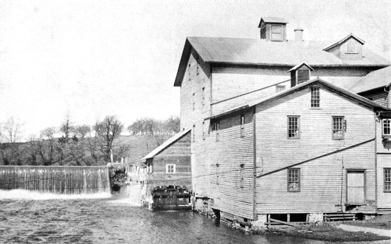 Iveys Dam and Mill in Port Dover.