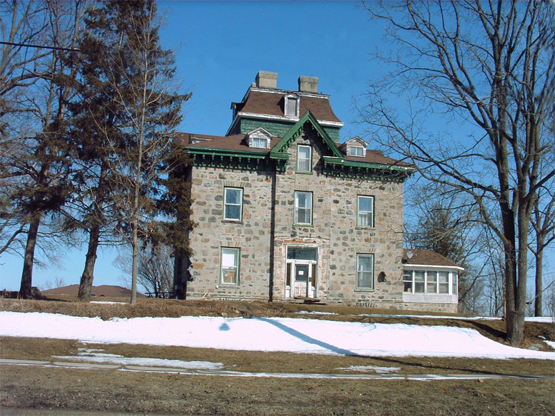 Fieldstone house, circa, 1860.