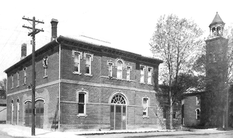 Simcoe's former fire hall.